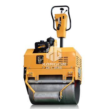 750全液压手扶单轮压路机