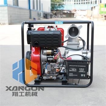 口径100mm柴油抽水泵